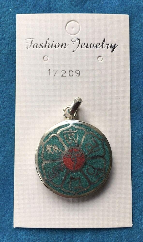 Medaglione Occhi Buddha 17209