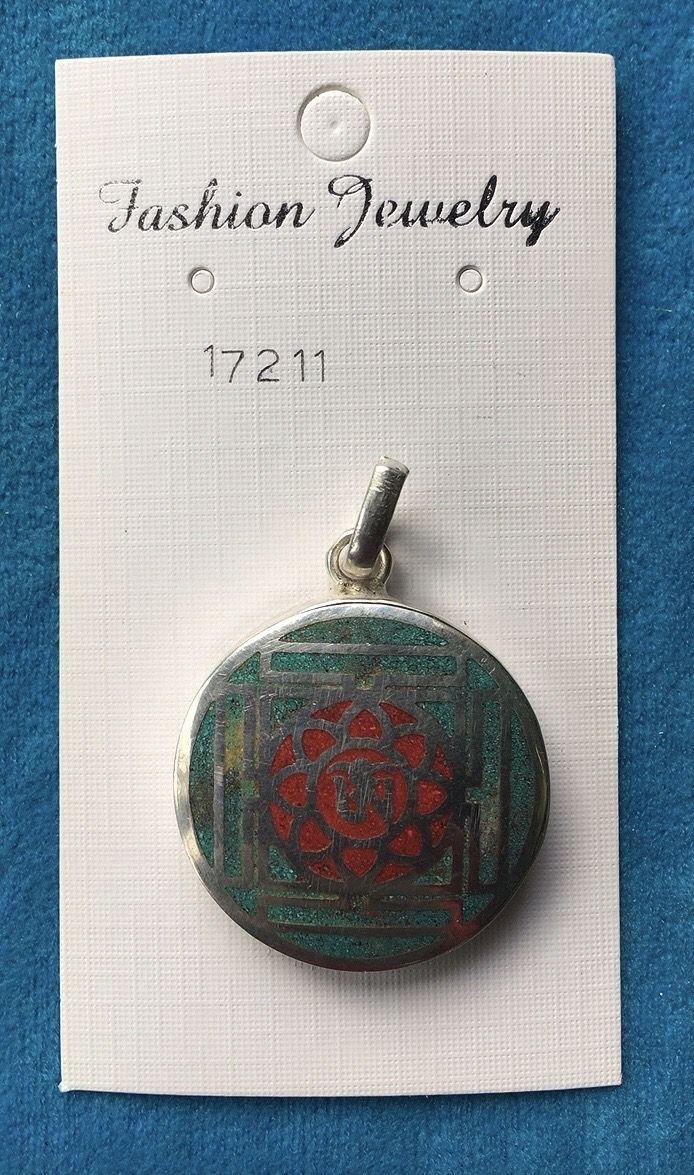 Medaglione Om Chakra 17211