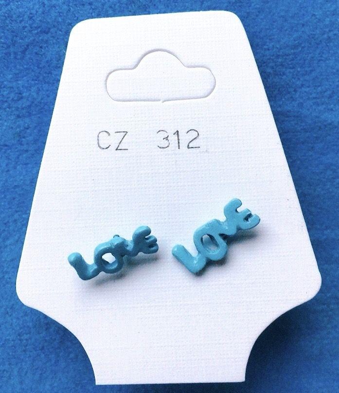 Orecchini Love CZ312