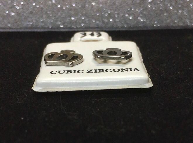 Orecchini Corone CZ313