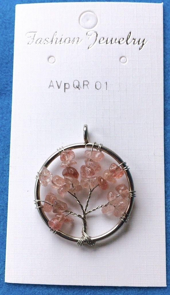 Albero Vita Quarzo Rosa AVpQR01