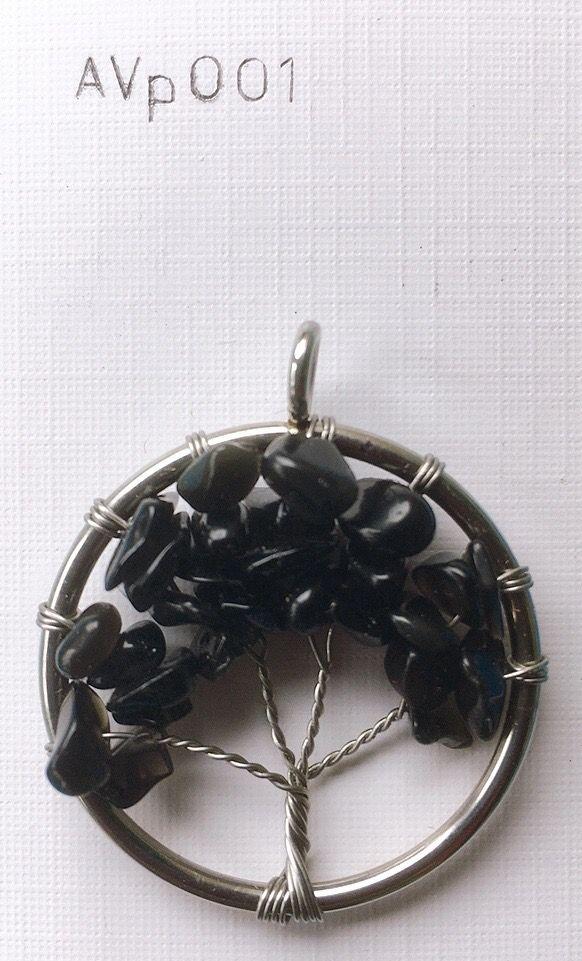 Medaglione Albero Vita Onice AVpO01