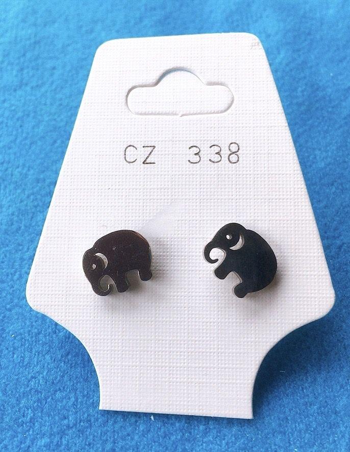 Orecchini Elefanti CZ338
