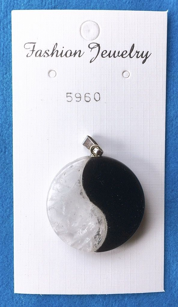 Yin Yang Cristallo Rocca Onice 5960