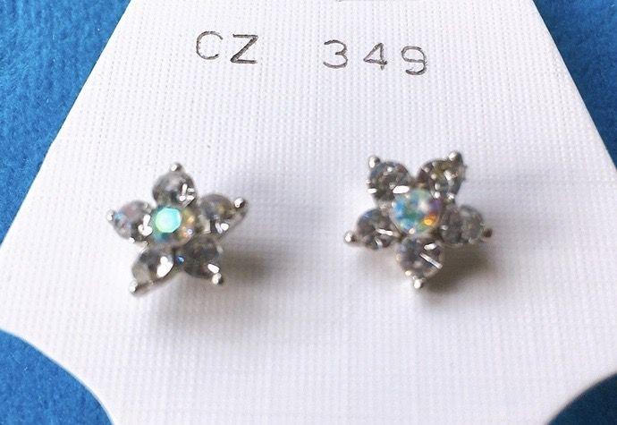 Orecchini Cristallo Stelle CZ349