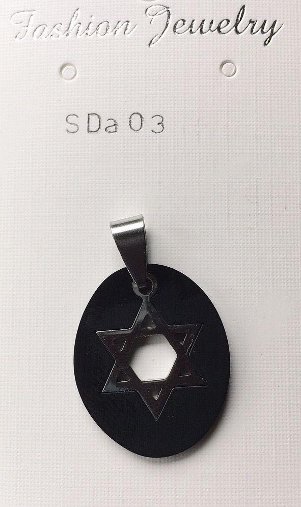 Ciondolo Stella David SDa03