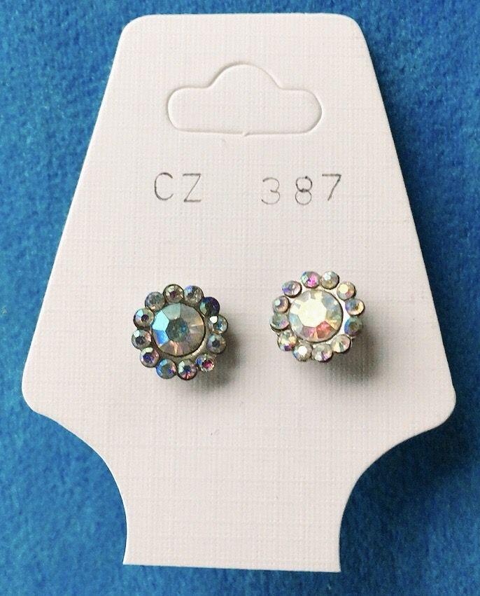 Orecchini Cristalli Cangianti CZ387