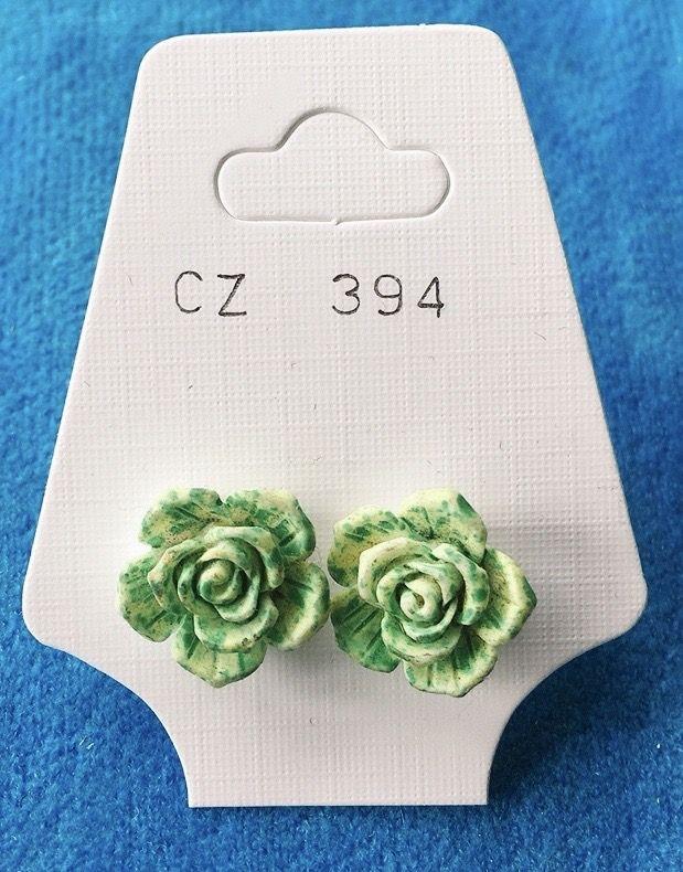 Orecchini Rose Fimo CZ394