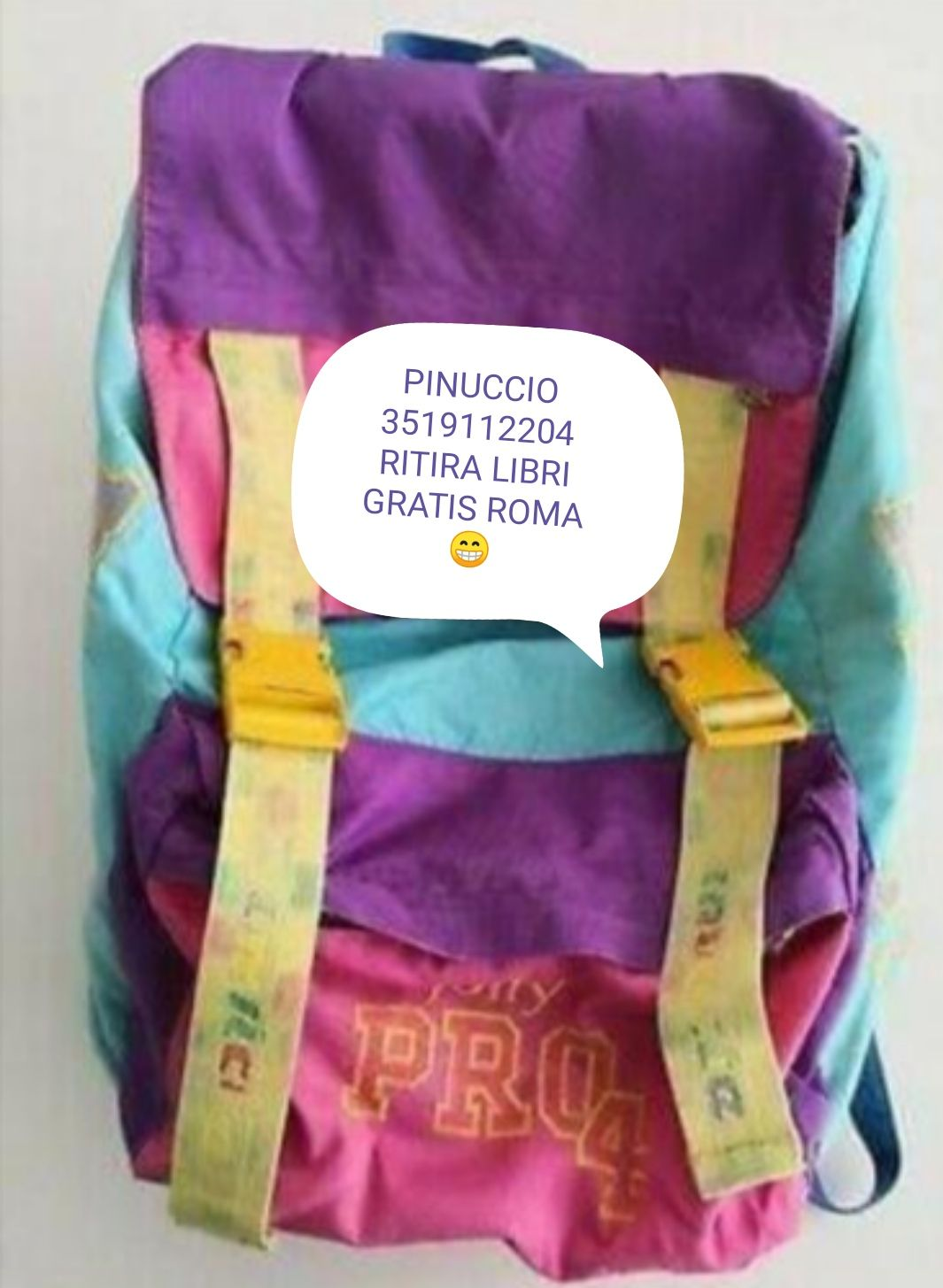 :-) RITIRO LIBRI GRATIS A DOMICILIO A ROMA E PROVI