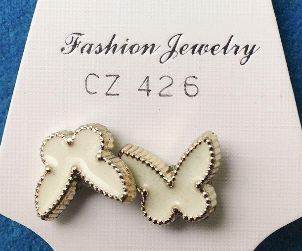 Orecchini Farfalle CZ426