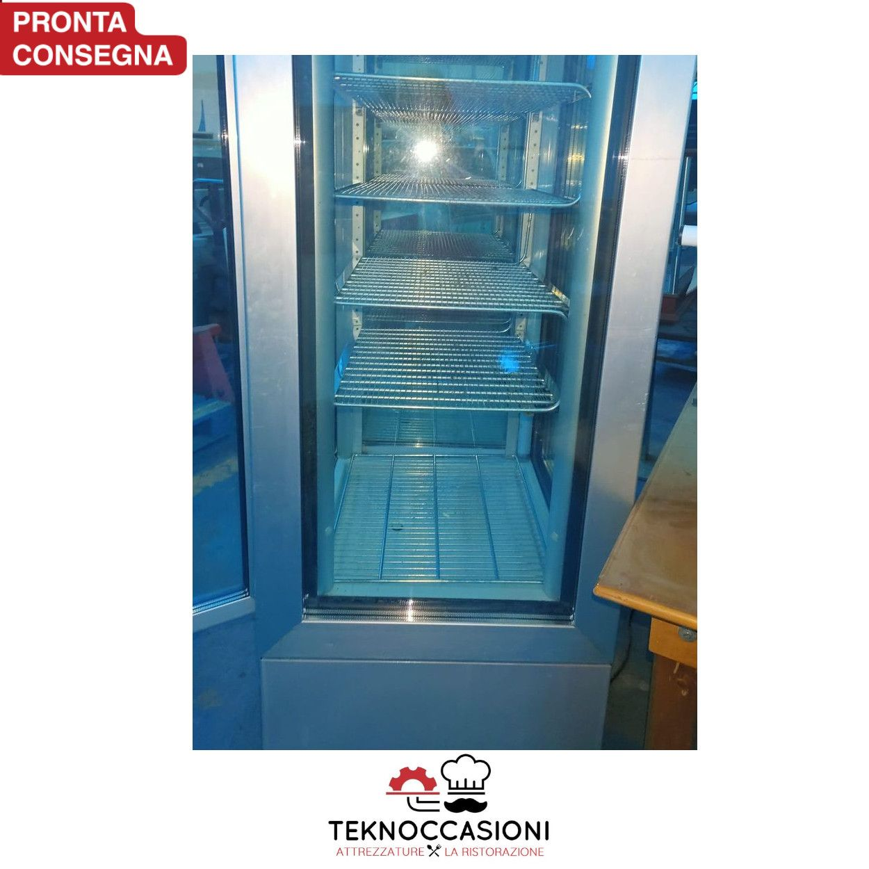 Vetrina congelatore tutta vetri per gelateria