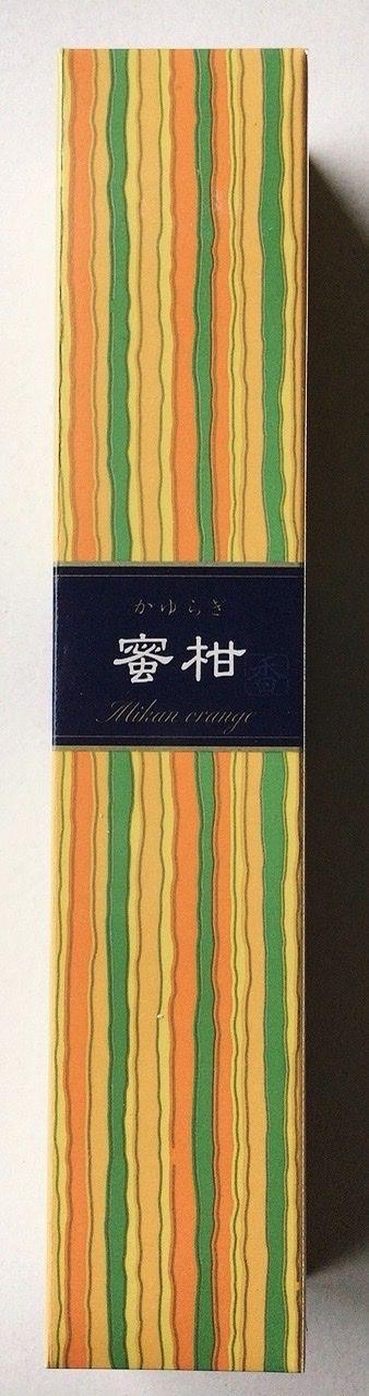 Incenso Kayuaragi Arancia Giapponese Kay03