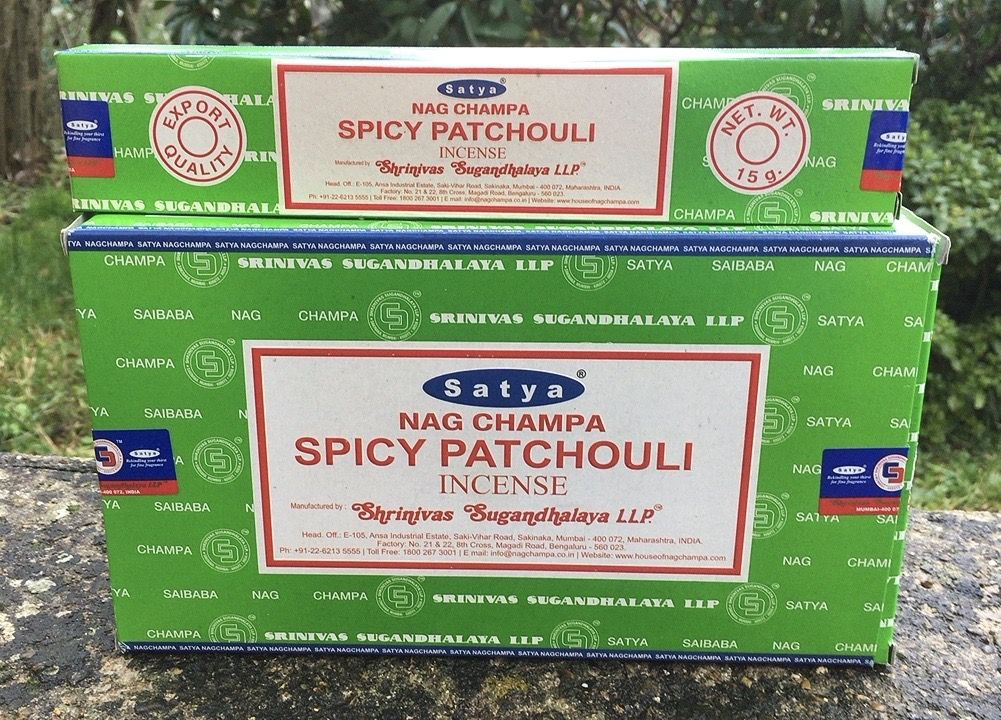Incenso Bastoncini Satya Spicy Patchouli Sat124