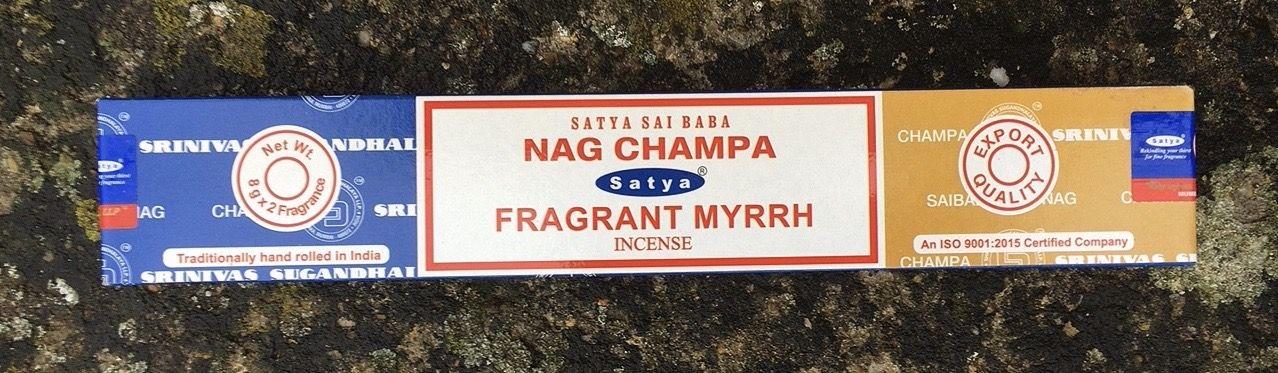 Incenso Nag Champa & Myrrh Sat130