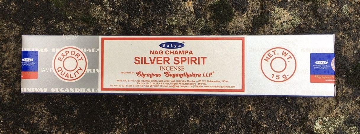 Incenso Satya Silver Spirit Sat134