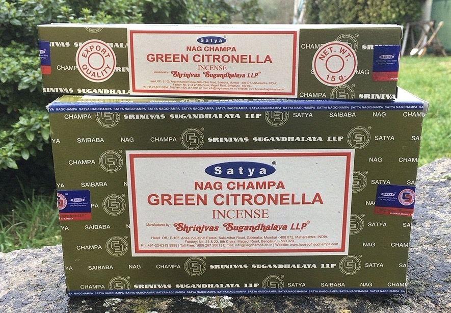 Incenso Satya Green Citronella Sat137
