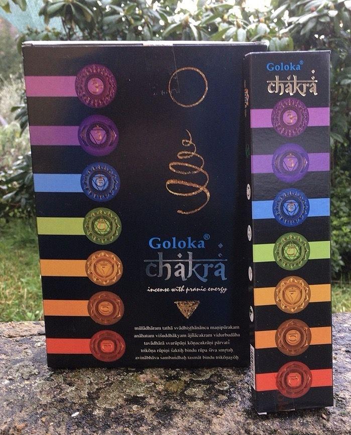 Incenso Goloka Chakra Gol116