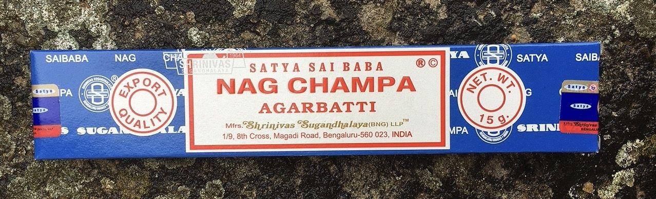 Incenso Satya Nag Champa Sat45