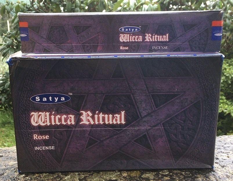 Incenso Satya Wicca Ritual Sat106