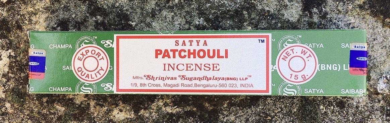 Incenso Satya Patchouli Sat17