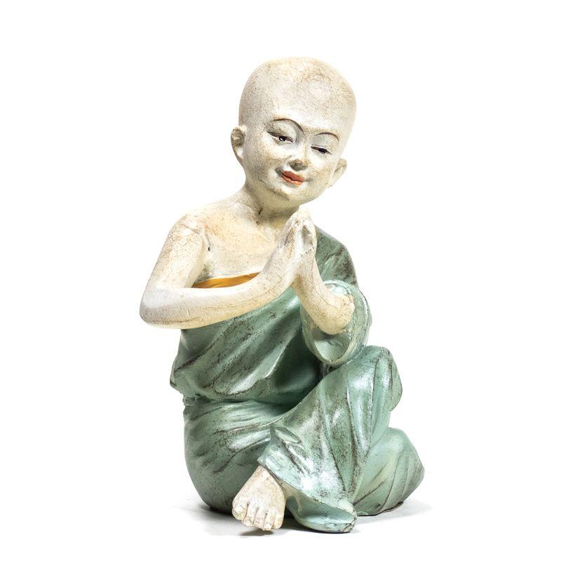 Statua Monaco Yoga Namastè 18159