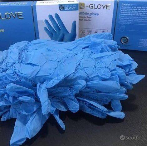 guanti in nitrile in vendita