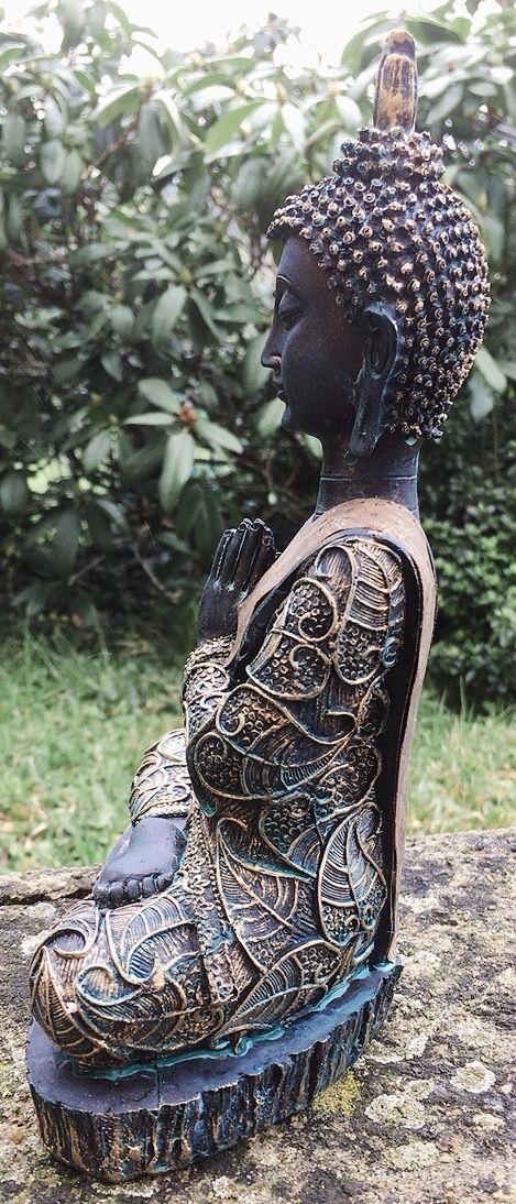 Statua Buddha Namastè Thailandia 18102