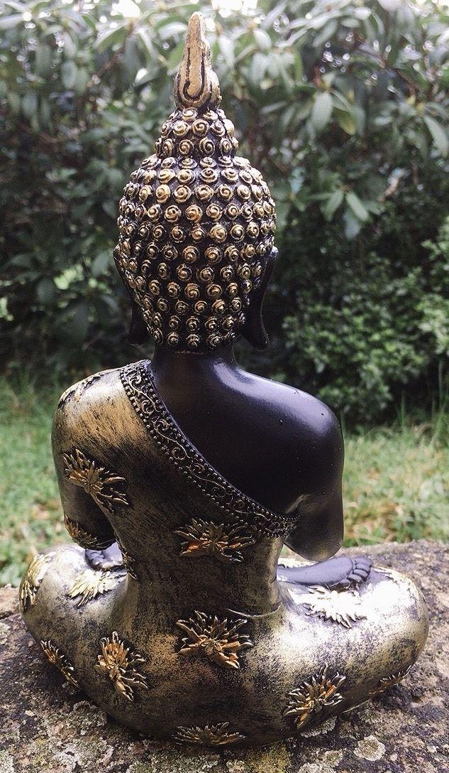 Statua Buddha Preghiera Thai 18109
