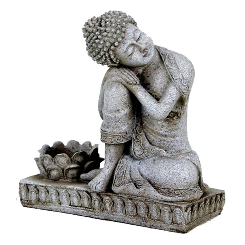 Statua Buddha Porta Candela 0115