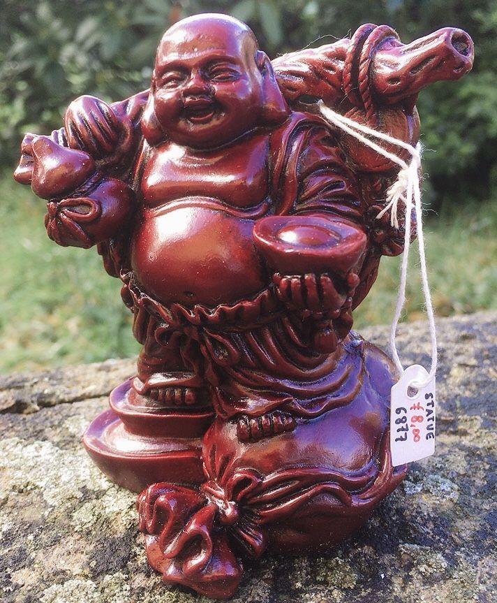 Statua Buddha Prosperità 6877
