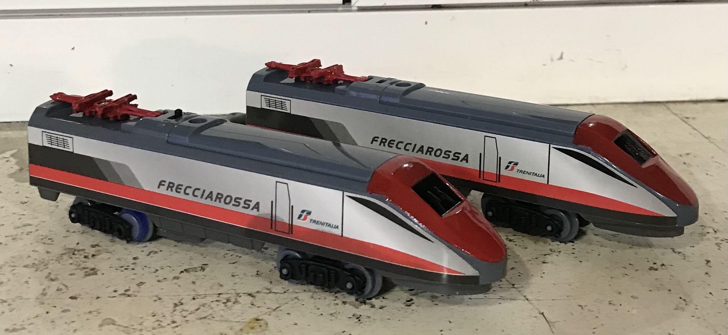 Locomotore Statico Freccia Rossa Fs Scala N 1:160