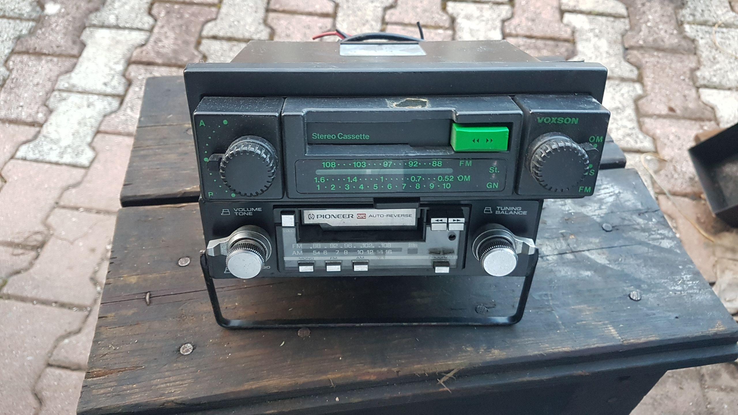 pioneer kex 20 + autovoxn tasto verde