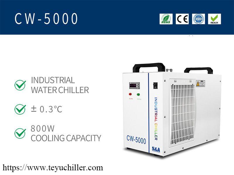 Piccolo refrigeratore d'acqua CW5000
