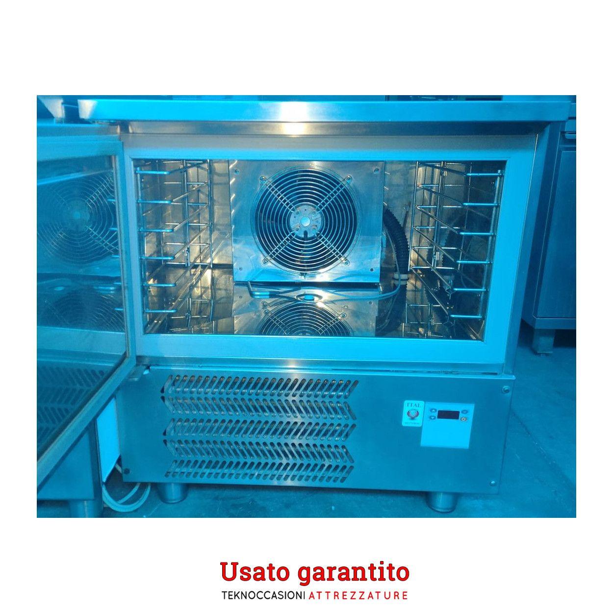 Abbattitore di temperatura 5 teglie usato