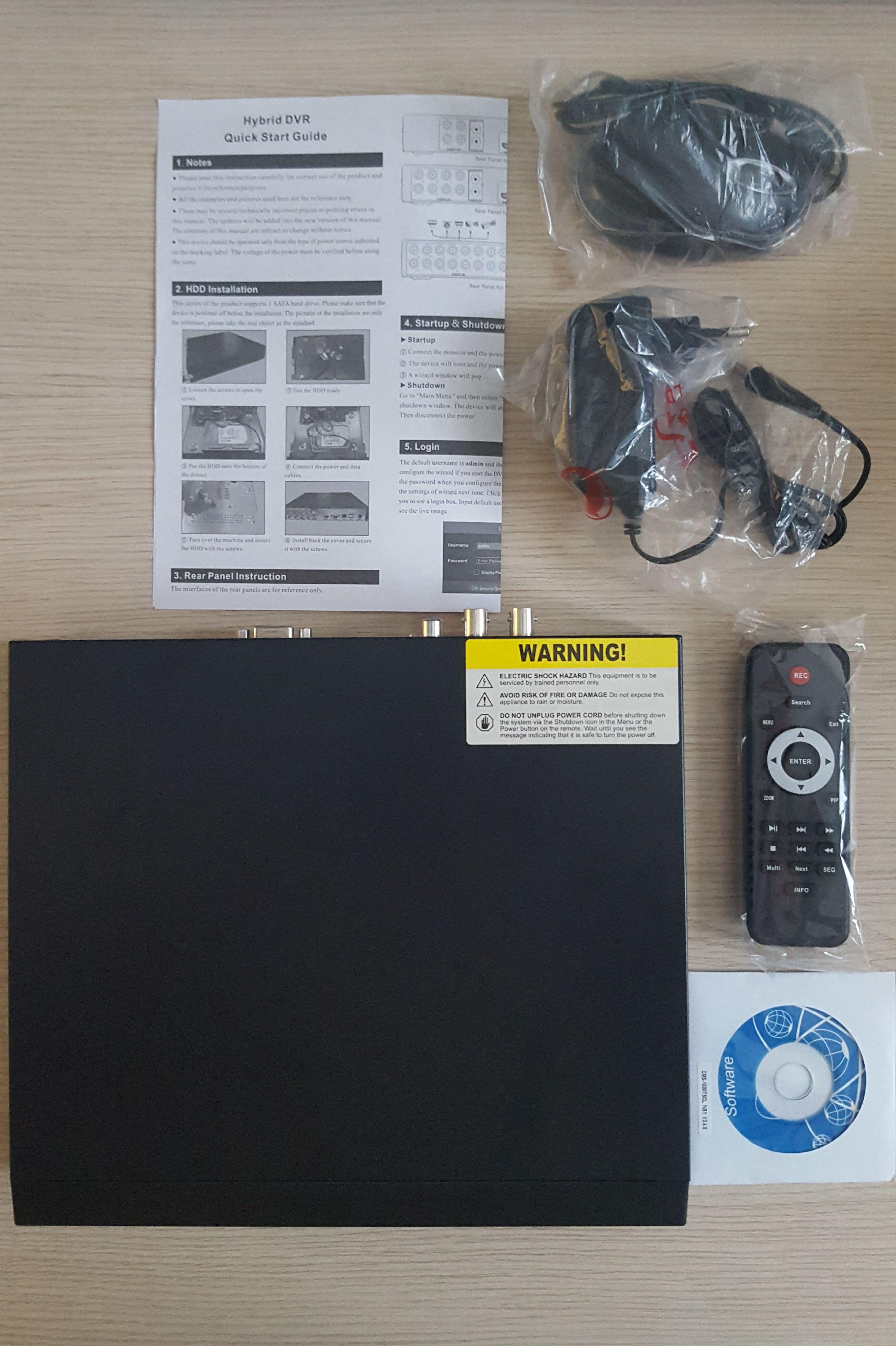 DVR SKILLEYE 4 CANALI COMPRESO HD 1TB