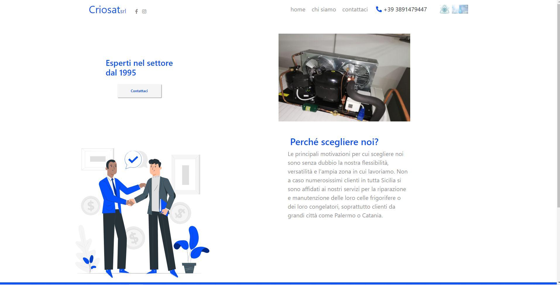 Siti web professionali e personalizzati.