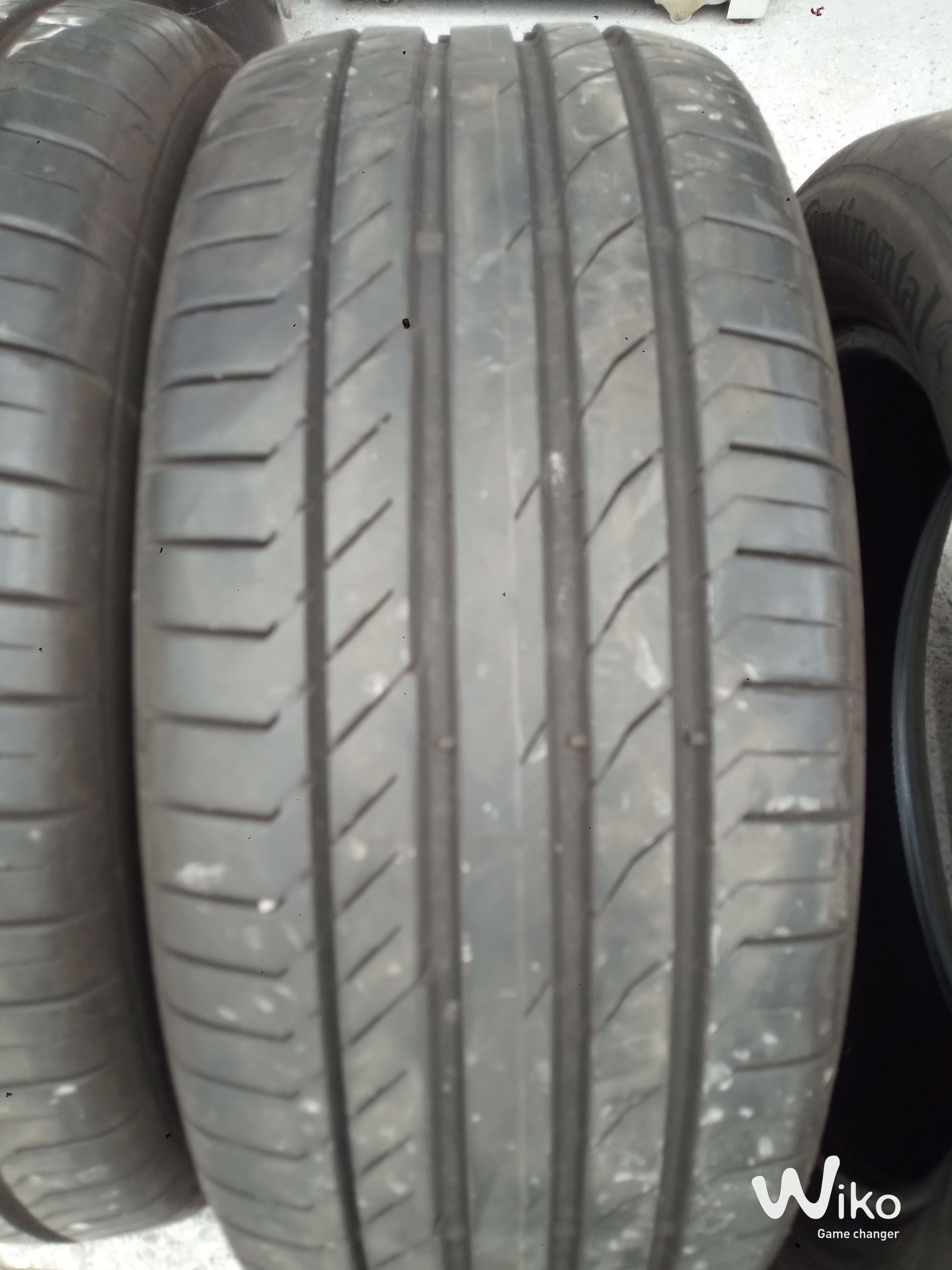 4 GOMME ESTIVE CONTINENTAL usate 235/50/18