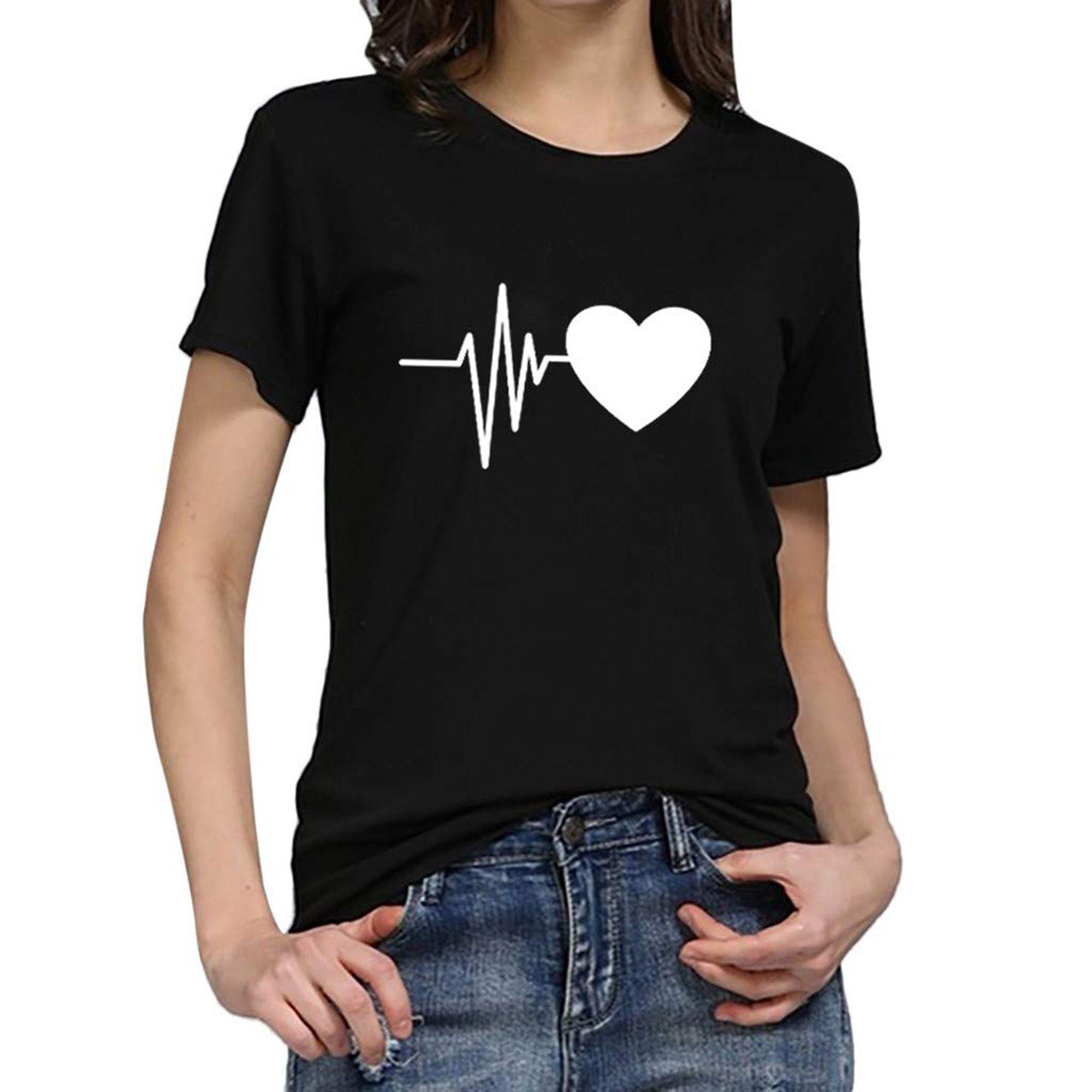 T-shirts con stampe efficaci e di tendenza