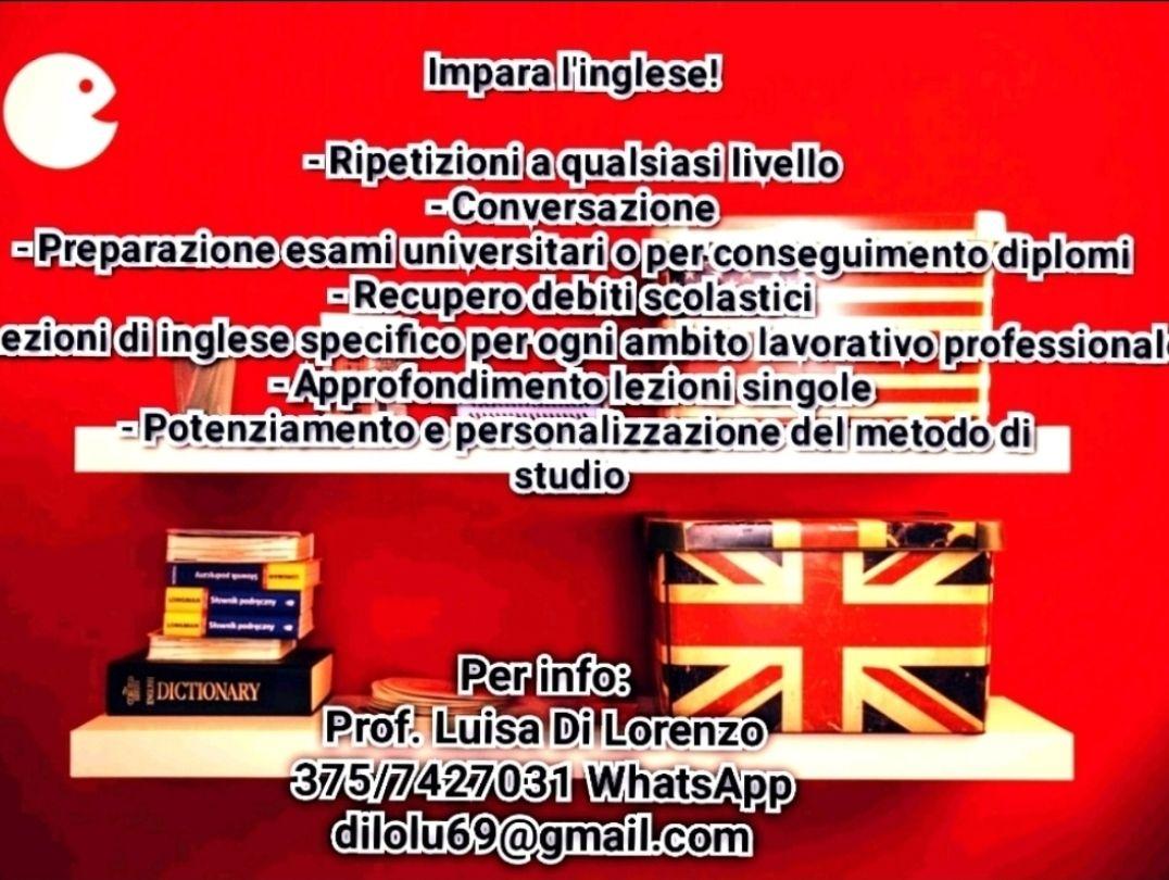 Impara o potenzia l'inglese